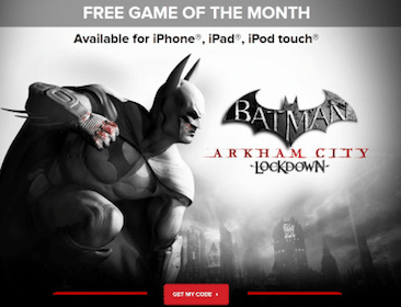 Batman Arkham City Lockdown Game for iPhone, iPad and iPod Touch (Regularly $5.99)
