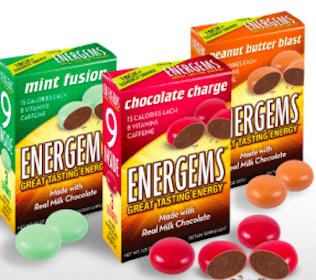 Sample of Energems Dietary Supplement Gems