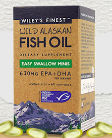 Wiley's Finest Fish Oil Minis Sample