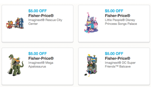 High Value Fisher-Price Toy Coupons
