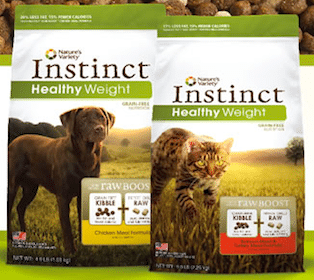 Nature's Variety Instinct Healthy Weight Kibble Pet Food Sample