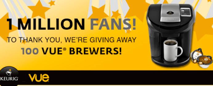Win 1 Of 100 FREE Keurig V600 Brewers ($189.99 Value!)