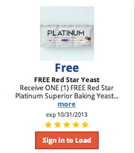 Kroger & Affiliates eCoupon: FREE Red Star Yeast