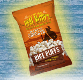 Bag of Real McCoy's Rice Puffs