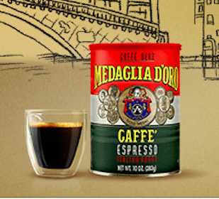 Medaglia D'Oro Dark Italian Roast Espresso Coffee Sample