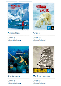 National Geographic DVD's and Brochures