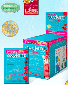 Oxylent Prenatal Daily Daily Multivitamin Supplement Drink Sample