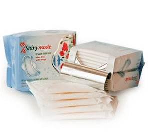 Shinymode Feminine Pads Sample