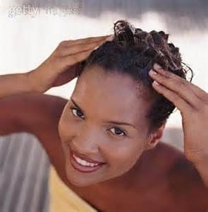 tips for growing out relaxed hair