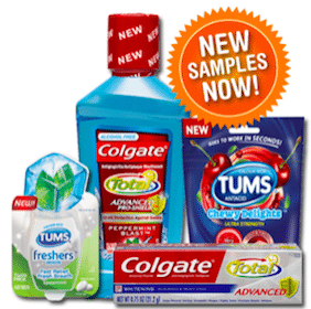 SampleSource.com: Request lots of Samples (Colgate, TUMS, John Frieda, Quaker + More)