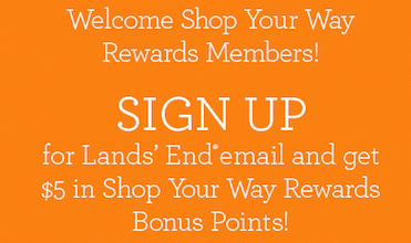 $5 Shop Your Way Rewards