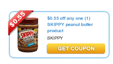 Save $0.55/1 Skippy Peanut Butter Coupon