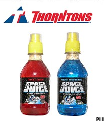 Space Juice at Thorntons stores