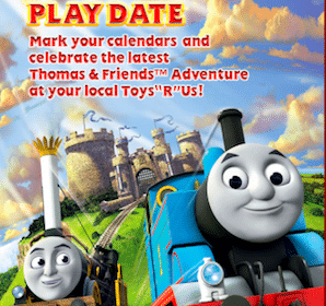 ToysRUs Event: Thomas & Friends Play Date on September 14th