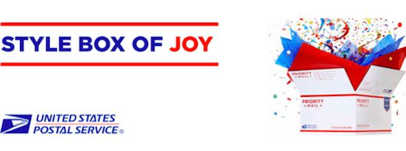 USPS Style Box of Joy: LIVE Tonight at 12:01 am EST (1st 5,000!)