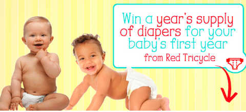 Red Tricycle Year's Supply of Diapers Giveaway: Win 2,500 Pampers Diapers ($750 Value!)