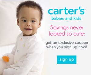 Free Coupon for Carter's Baby & Kids