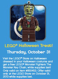 LEGO Monster Fighters The Monster Key Chain On 10/31