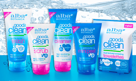 Alba Botanica Good & Clean Sample  LIVE @12 Noon EST