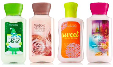 Bath & Body Works: Signature Collection Travel Size Body Lotion – $5 Value!