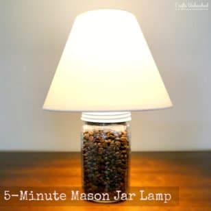 DIY canning jar lighting