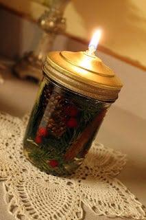DIY canning jar lighting