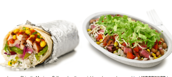 Chipotle Mobile Coupon: Buy 1 Burrito, Bowl, Salad or Tacos Get 1 FREE