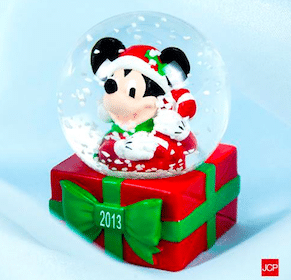 Disney Snow Globe at JCPenney on Black Friday