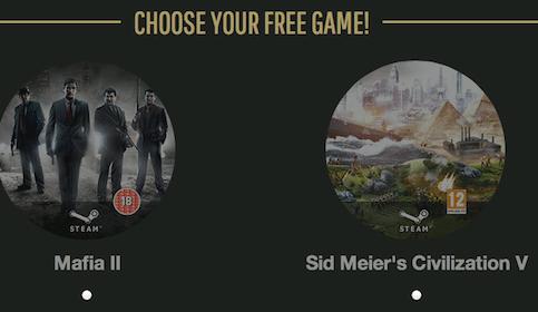 Mafia II or Sid Meier's Civilization V Computer Game Download
