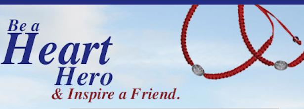 2 Heart Hero Bracelets