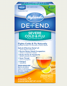 Hyland's Defend Severe Cold & Flu at 1 p.m. EST