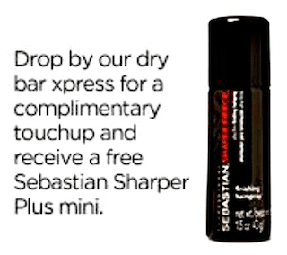 Sebastian Sharper Plus Mini and Touchup at JCPenney Salons