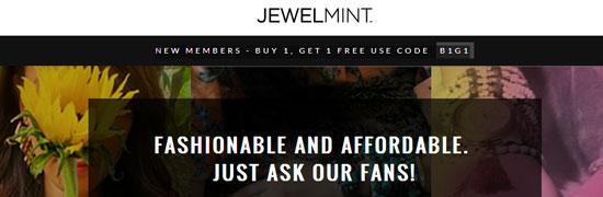 Free BOGO JewelMint Coupon