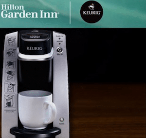 Hilton Garden Inns: Win a FREE Night's Stay + Keurig Brewer (85 Winners!)