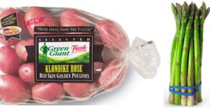 Buy 1 Bag of Green Giant Klondike Rose Potatoes, Get 1 Bag of Asparagus FREE Coupon