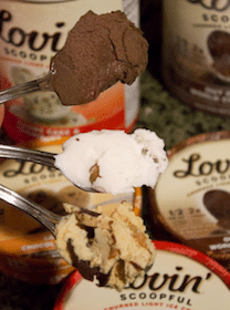 Lovin' Scoopful Gourmet Light Ice Cream (Mailed Coupon)