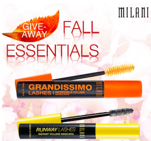 Win 1 of 1,400 Milani Mascara Products