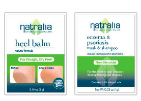 Natralia Natural Homeopathic Sample