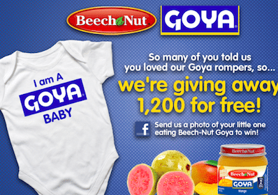Beech Nut: FREE Onesies LIVE at 10 a.m. EST- First 1,200!
