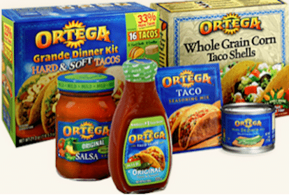 Save $1/2 Any Ortega Products Coupon