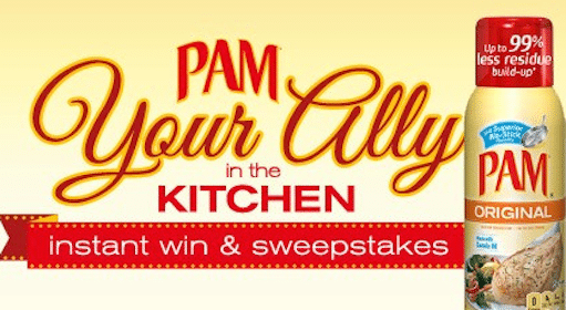 Pam Sweeps and Instant Win Game: 1,000 Win Martha Stewart Cookware (+ Pam Coupon)