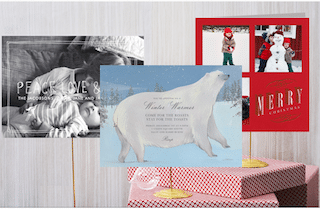 Paperless Post Paper Holiday 2013 Collection Card Samples