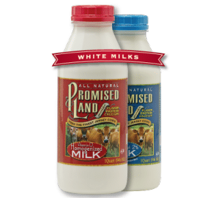 Save $0.55/1 Promised Land White Milk Coupon