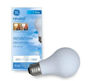 Reveal Lightbulbs at Target