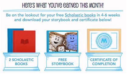 2 Scholastic Books