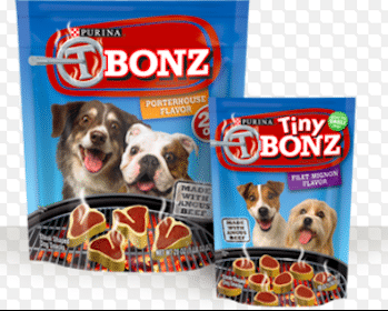 3 Bags of Purina Dog Treats at Dollar General