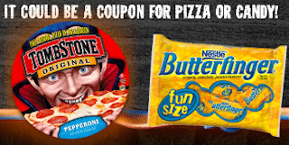 Tombstone Trick or Treat Game: Score a Tombstone Pizza OR Nestle/Wonka Fun Size Bags Coupon