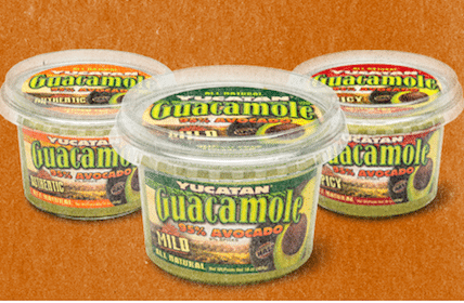 $4/1 ANY Yucatan Guacamole Product Coupon = Free Guacamole at Walmart
