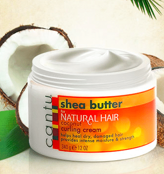 Cantu Shea Butter Coconut Curling Cream Sample