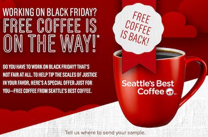 Seattle's Best Coffee Sample